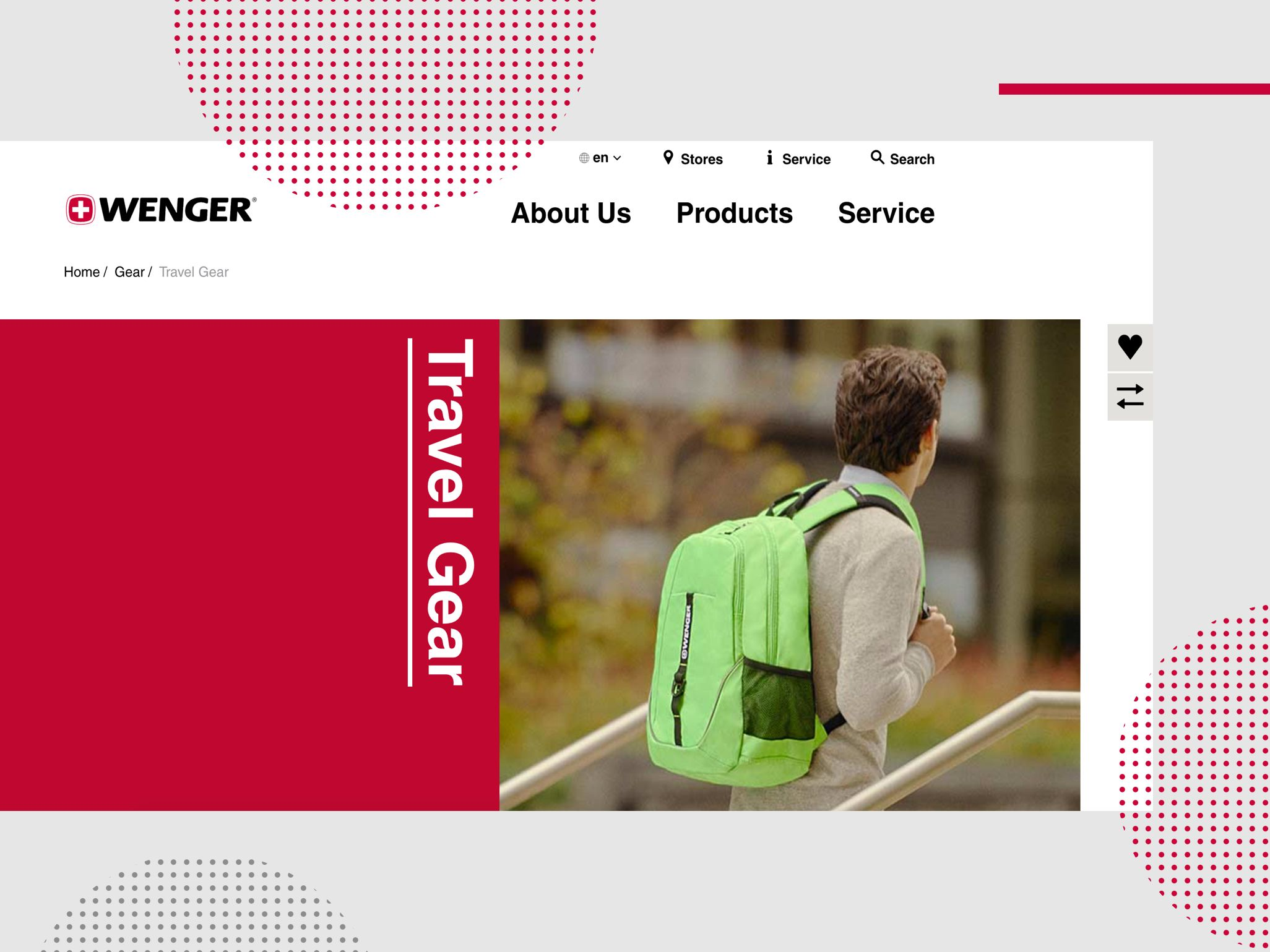 Wenger - Desktop view Travel Gear