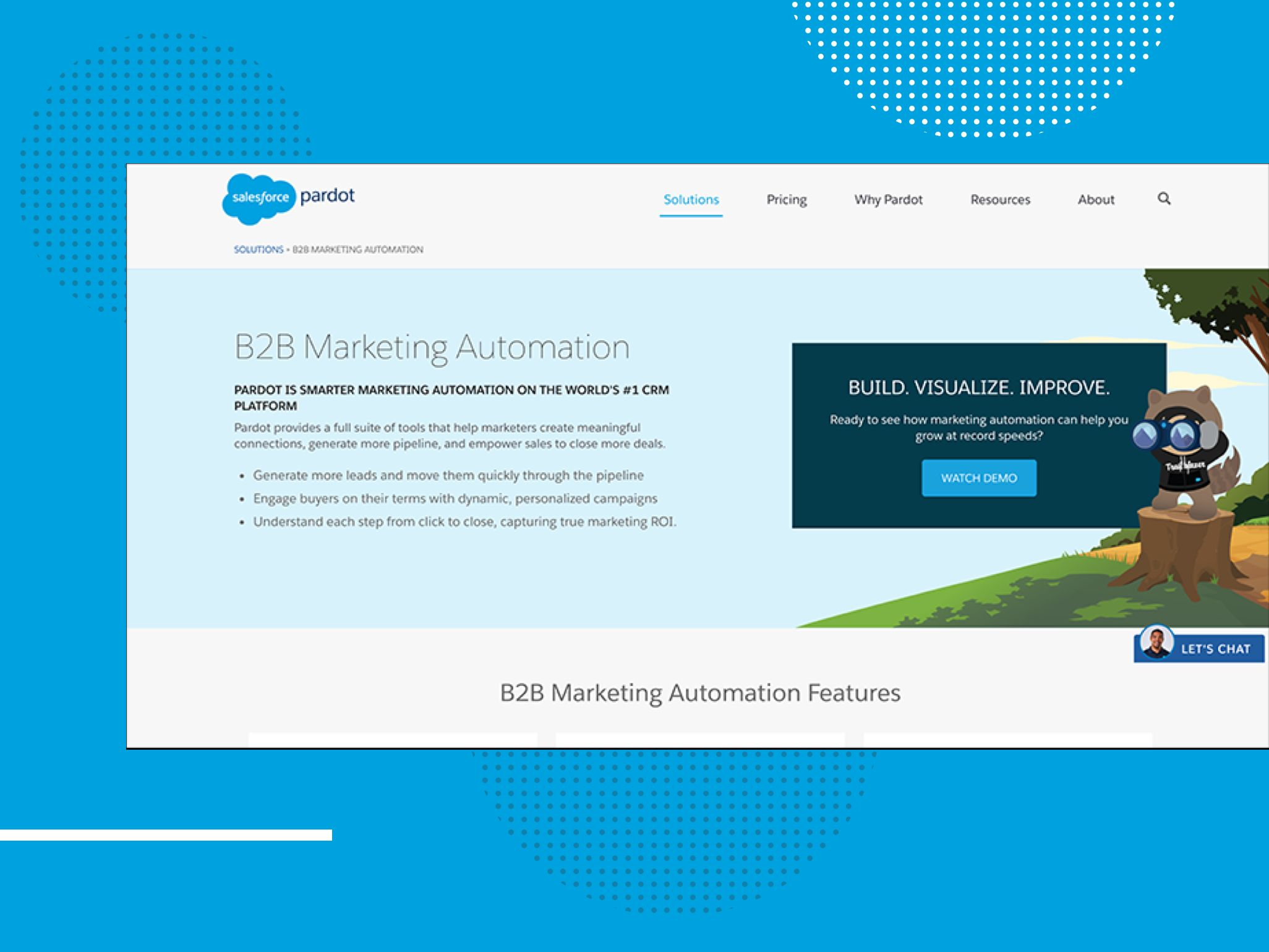 audimex - Website Ansicht B2B Marketing Automation