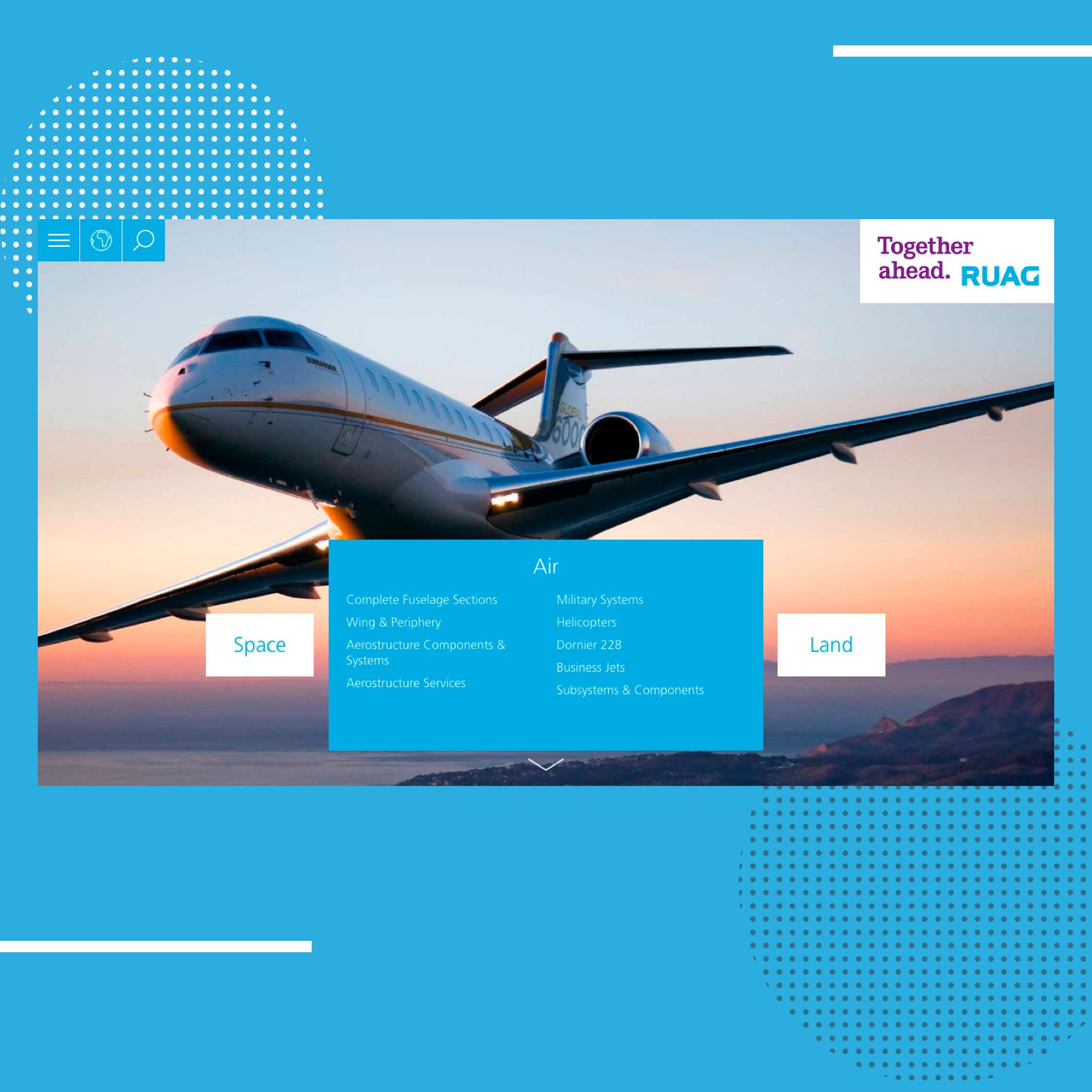 RUAG: Einblicke in den Website Relaunch