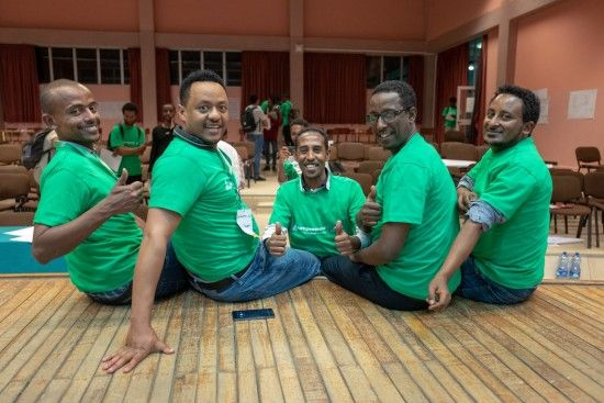 Team Pro Fix beim Startupweekend in Adis Abeba