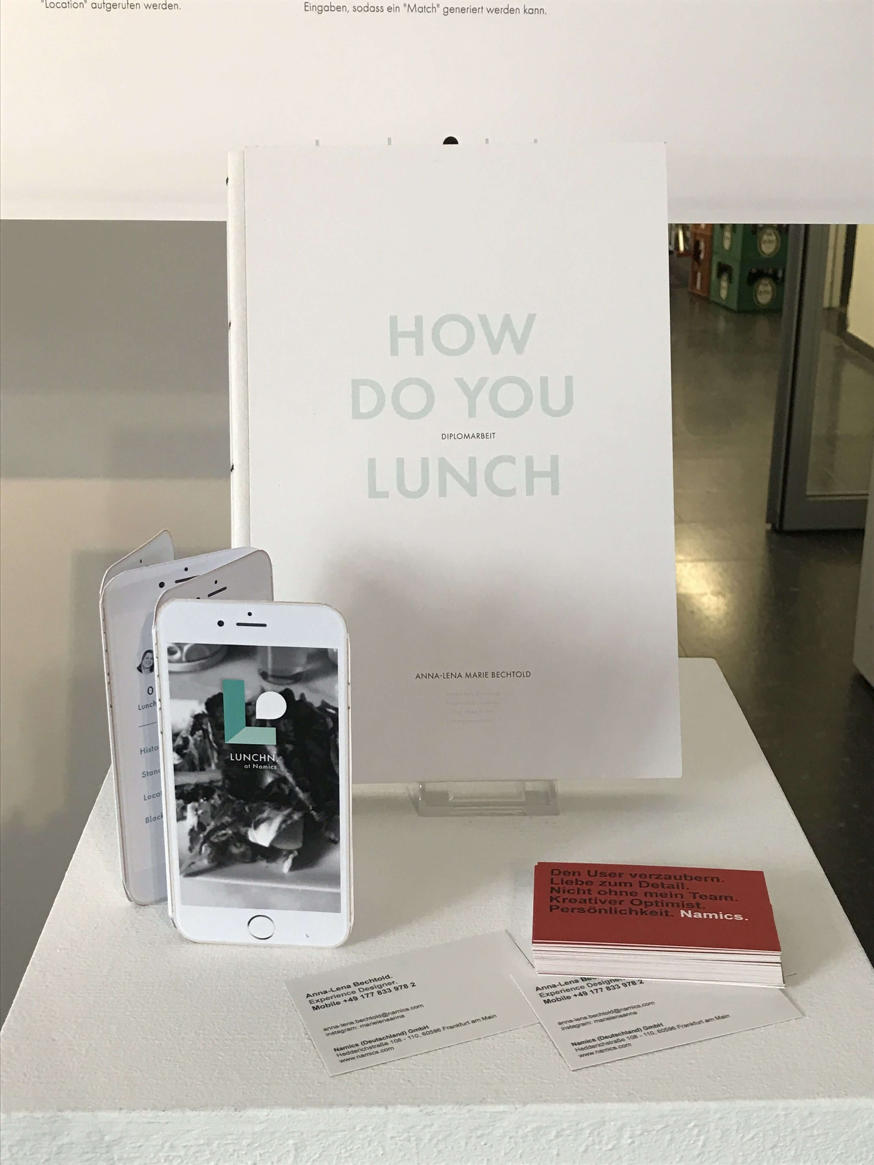 How do you lunch App