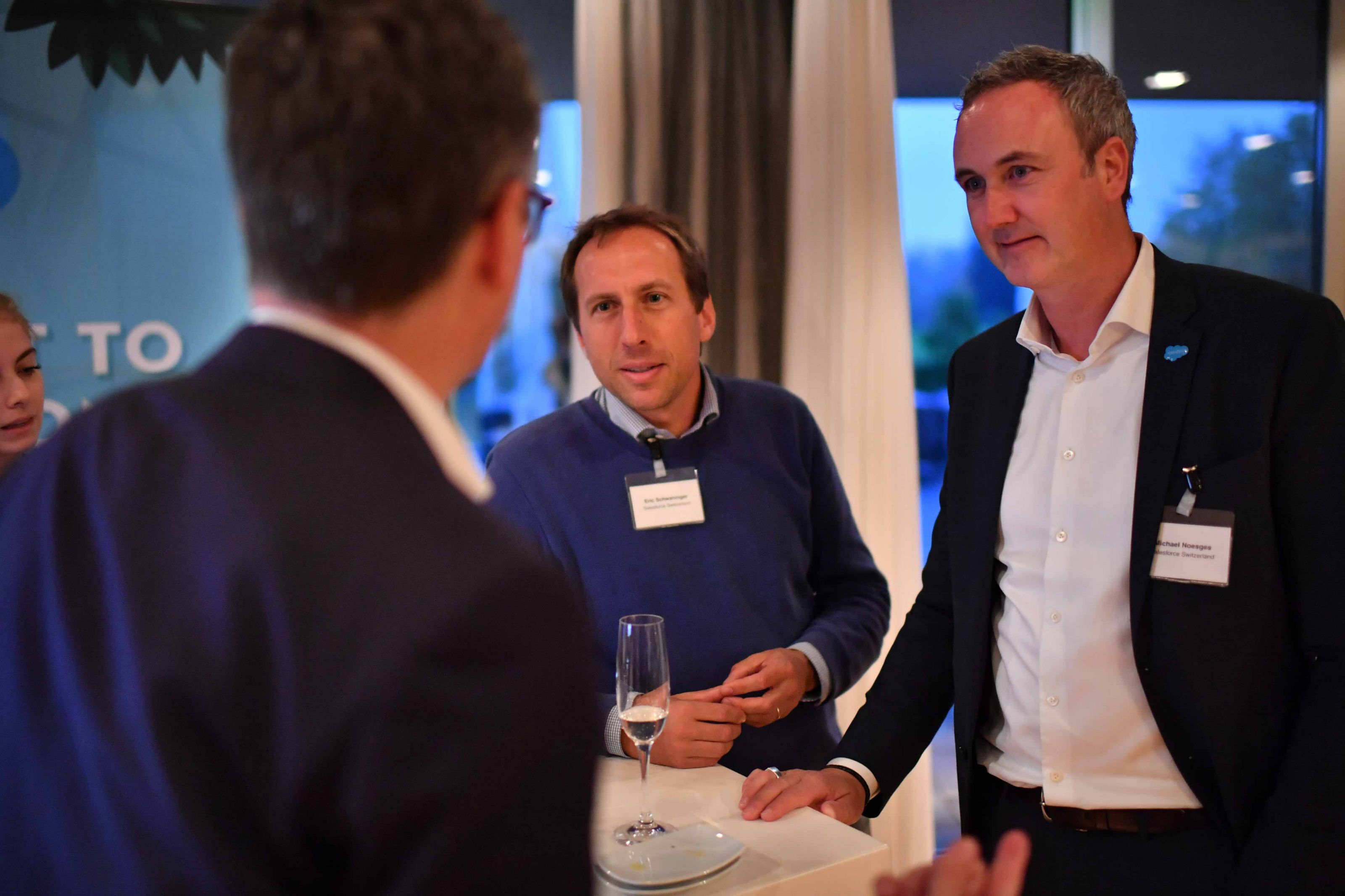 Networking beim Smart Business Day 2019