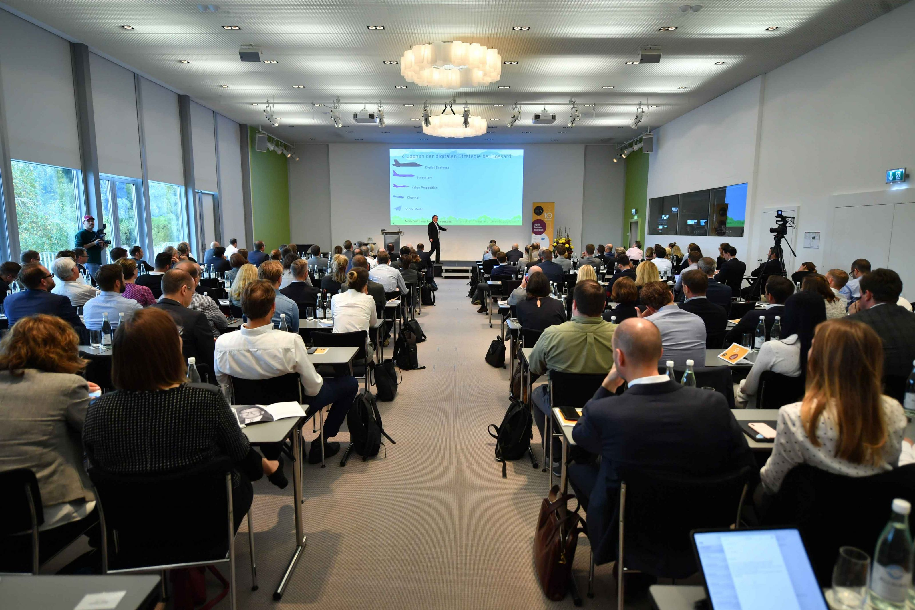 Das Publikum beim Smart Business Day 2019